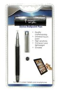 Stylus/Ballpoint Pen: Itrust Black Stationery