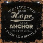 Meaningful Magnet: Finishing Strong - We Have This Hope, Black