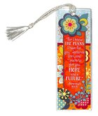 Bookmark With Tassel: For I Know the Plans I Have For You... Stationery