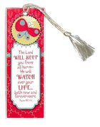 Bookmark With Tassel: The Lord Will Keep You From All Harm... Stationery