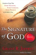 The Signature of God Paperback