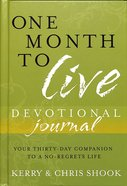 One Month to Live Devotional Journal Hardback