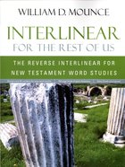 Interlinear For the Rest of Us Paperback