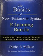 The Basics of New Testament Syntax E-Learning Bundle Pack