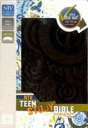 NIV Teen Study Bible Compact Espresso Imitation Leather