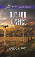 Out For Justice (Love Inspired Suspense Series) eBook