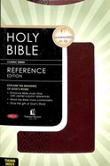 NKJV Center-Column Reference Indexed Bible (Red Letter Edition) Imitation Leather