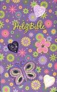 NKJV Sequin Bible Purple Flexi Back
