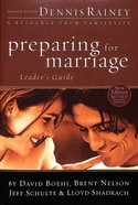 Preparing For Marriage (Leader's Guide) Paperback