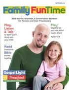 Gllw Spring a 2020 Ages 2/5 Family Funtime Pages (Gospel Light Living Word Series) Paperback