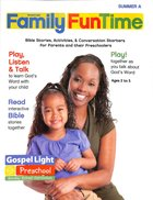 Gllw Summer 2020/2021 Year a Preschool Ages 2-5 (Family Fun Time Pages) (Gospel Light Living Word Series) Paperback