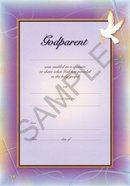 Certificate: Godparent (10 Pack) Stationery