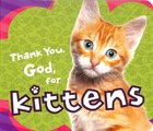 Thank You God For Kittens Board Book