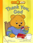 Thank You, God (Happy Day Level 1 Pre-readers Series)