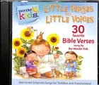 Little Verses For Little Voices (#02 in Wonder Kids Music Series) CD