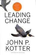 Leading Change Hardback