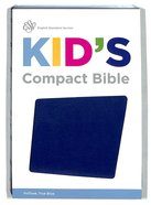 ESV Kid's Compact Bible Trutone True Blue Imitation Leather