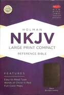 NKJV Large Print Compact Reference Bible Black