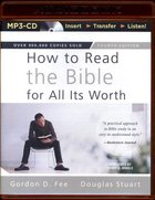 How to Read the Bible For All Its Worth (Mp3, Unabridged, 11 Hours) CD