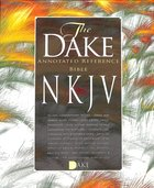 NKJV Dake Annotated Reference Bible Burgundy Leathersoft