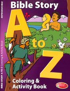 Bible Story a to Z Activity Book Paperback