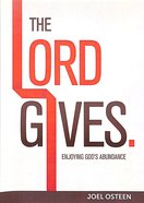 Lord Gives, the Cd/Dvd Set DVD