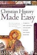 Christian History Made Easy (DVD Bible Study Complete Kit) (Rose Bible Basics Series) Pack