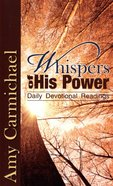 Whispers of His Power Mass Market