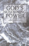 God's Sustaining Power Paperback