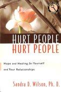 Hurt People Hurt People (Large Print) Paperback