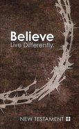 NIV Popular Paperback New Testament Believe Crown