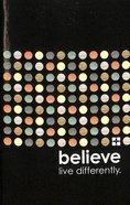 NIV Popular Paperback New Testament Believe Vistas