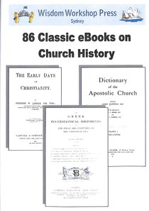Wisdom Workshop:86 Classic Volumes on Church History (Cd-rom)