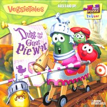 Veggie Tales Jigsaw Puzzle: Duke & the Great Pie War