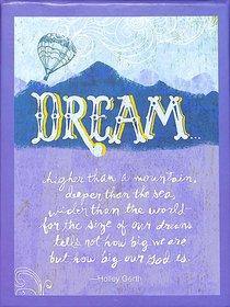 Boxed Notes: Dream, Ephesians 3:20