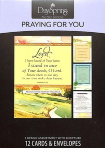 Boxed Cards Praying For You: Bible Prayers