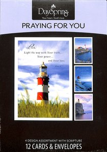 Boxed Cards Praying For You: Lighthouses