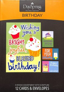 Boxed Cards Birthday: Cake
