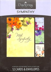 Boxed Cards Sympathy: Watercolours