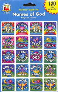 Sticker Pack: Names of God