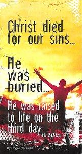 Christ Dies For Our Sins...