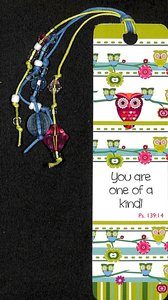 Bookmark With Beaded Tassel: You Are One of a Kind, Ps 139:14