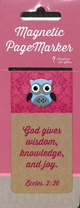 Magnetic Bookmark Large: Owl- Wisdom For the Soul