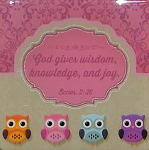 Meaningful Magnet Owl: Wisdom For the Soul