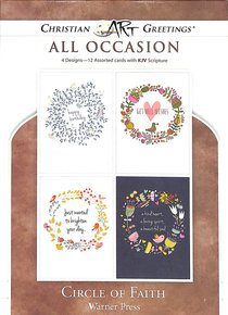 Boxed Cards: All Occasion - Circle of Faith