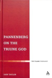 Pannenberg on the Triune God