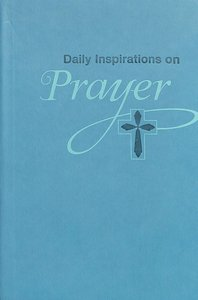 Prayer (Green Luxleather) (Daily Inspirations Series)