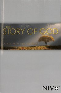 NIV Story of God New Testament Large Print Tree Cover