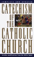 Catechism of the Catholic Church Mass Market