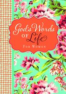 God's Words of Life For Women (Niv) Paperback